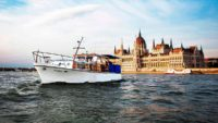 Thetis private yacht on sightseeing cruise