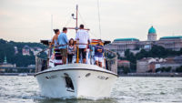 Thetis cocktail cruise in Budapest