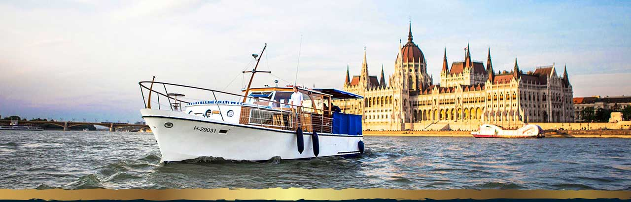 Thetis Yacht on the Danube
